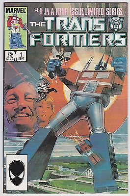 Transformers #1 VF 8.0 Marvel First Issue!!
