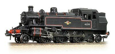 Bachmann 31-441DC - Ivatt 2-6-2T, 41291 BR Black (Late) DCC Fitted - New. (00)