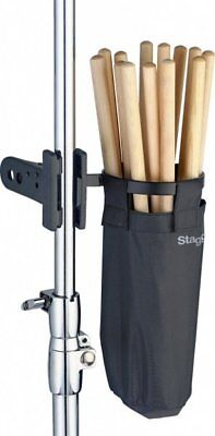 Stagg DSHB10 Drum Stick Holder Bag With Fast Clip