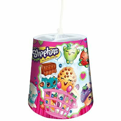 Shopkins Pink Tapered Ceiling Light Shade Girls Bedroom Lighting Official New