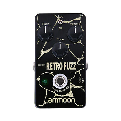 Electric Guitar Analog Chorus Effect Pedal True Bypass Metal Shell Blue Mini