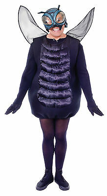 Fly Adult One Size Costume  Bug Insect Fancy Dress Unisex Halloween