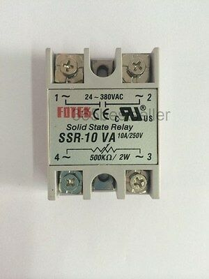 SSR-10VA 10A Resistance Regulator Solid State Relay 500Kohm