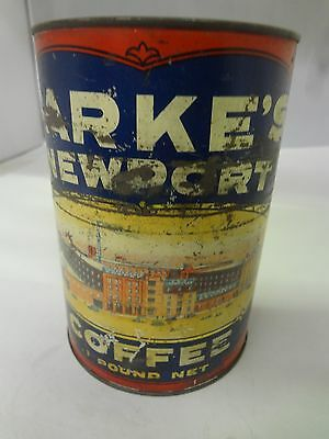 Vintage Park's Newport Coffee With Original Lid  Advertising Collectible  G-509