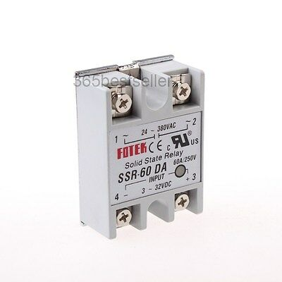 SSR-60DA SSR Solid-state Solid State Relay 60A Output AC24-380V