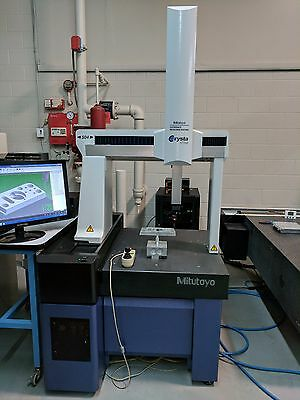 Mitutoyo Crysta 504 DCC CMM w/ CMM Manager Standard CAD IN/OUT Retrofit Renishaw