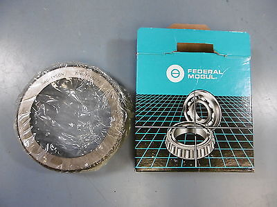 Lot of 2 New BCA 72487 Federal Mogul Taper Bearing Races Cups
