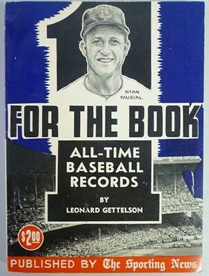 1958 One For The Book Published By The Sporting News
