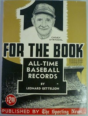 1959 One For The Book Published By The Sporting News