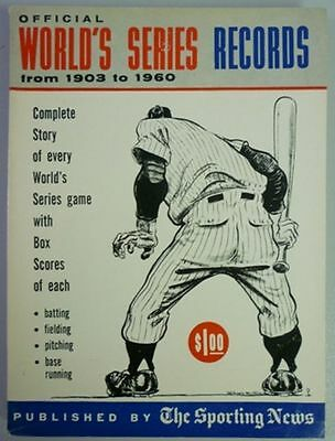 1961 Official World Series Records By The Sporting News
