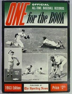 1963 One For The Book Published By The Sporting News