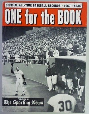 1967 One For The Book Published By The Sporting News