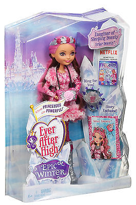 Mattel - Ever After High - Ewiger Winter Briar, Puppe, Neu, DKR65