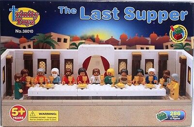 The Last Supper - Trinity Toyz Building Block Set Brand NEW Jesus and Disciples