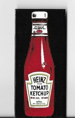 """3.25"""" Heinz Tomato Ketchup Bottle, Magnet or Magnetic Sign"""