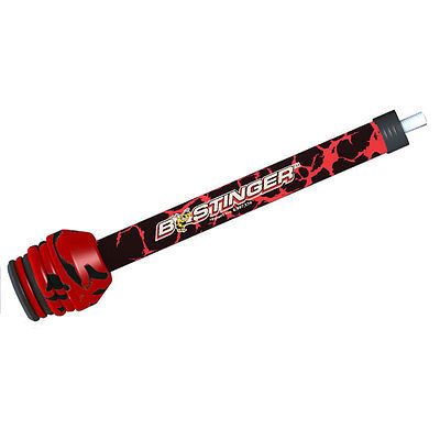 """Bee Stinger Sport Hunter Xtreme Stabilizer - 10"""" Red - SPHXN10RD"""