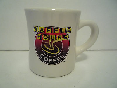 Waffle house restaurants fast food advertising for Heavy ceramic coffee mugs