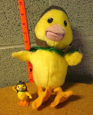 WONDER PETS plush doll Ming-Ming Duckling toy w/ cape 2008 & bonus figure