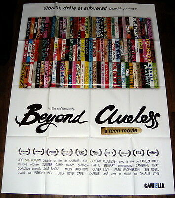 BEYOND CLUELESS a documentary about teen-movies Charlie Lyne LARGE French POSTER