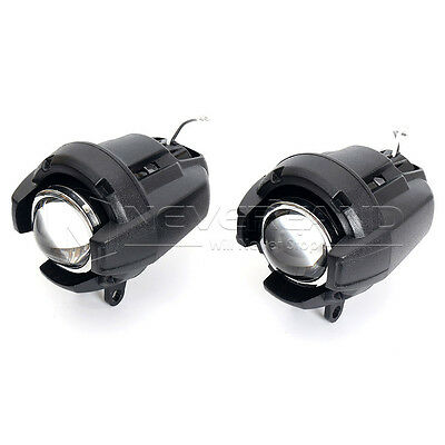 2pcs Motorcycle Safety Spot Fog Headlight Lamp For BMW K1600 R1200GS ADV Harley