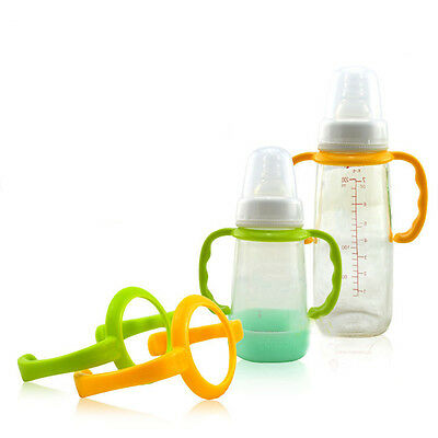High Quality Standard Easy Grip Baby Feeding Bottle Non-slip Handle Top Sale