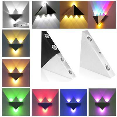 Modern 3W/5W LED Wall Light Lamp Bedroom Wall Sconce Lamp Fixture 8 Colors