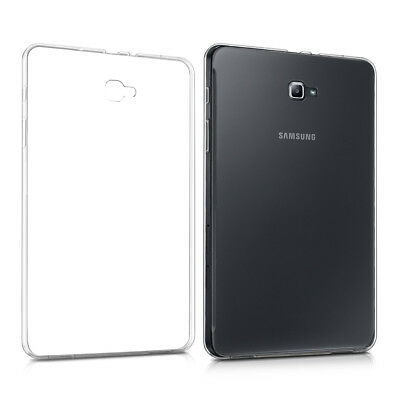 kwmobile Crystal Cover Tpu für Samsung Galaxy Tab A 10.1 (2016) Transparent