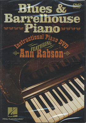 Blues & Barrelhouse Piano Learn How to Play Tuition DVD