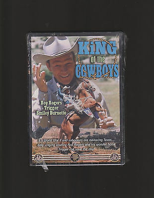 Roy Rogers ~ King Of The Cowboys Brand New Sealed Dvd Westlake Wlv3028 Region 1