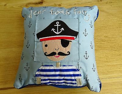 "Gisela Graham ""PIRATE"" Tooth Fairy Cushion"