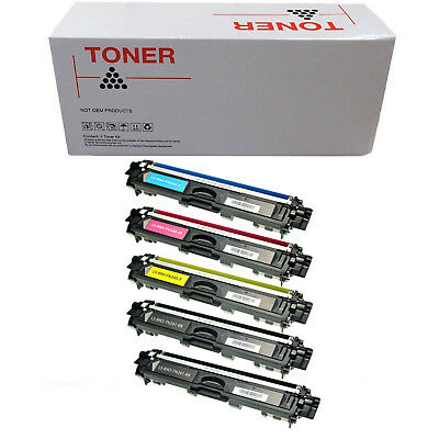 5 TONER COMPATIBILI REMAN BROTHER TN241 TN245 BK C M Y PER Brother DCP9020CDW