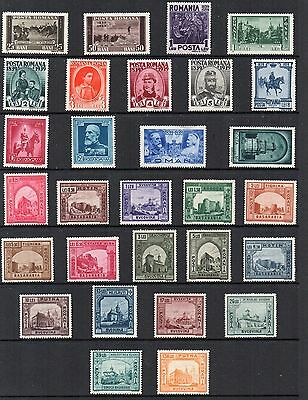 ROMANIA Stamp Collection 1939-41 UNMOUNTED MINT Ref:QC561