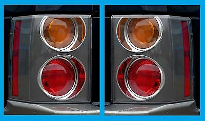 Pair Rear Light Red/Orange 2002-05  for Range Rover L322 vogue tail lamps new