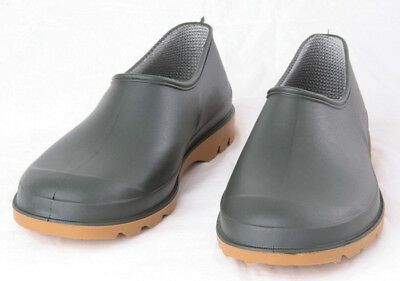 New Briers Traditional Green Garden Shoes Size 8 Waterproof Shoes Mens / Ladies