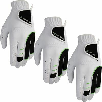 **Pack of 3** Stuburt 2016 All Weather Cabretta Leather Palm Mens Golf Gloves