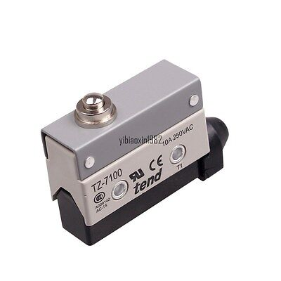 New TZ-7100 Short Push Plunger Actuator Momentary SPDT Micro Limit Switch