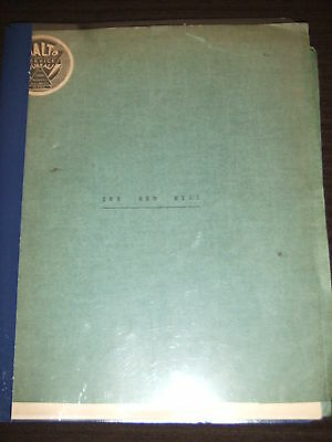 VERY RARE 1945 The Red Mill Broadway ORIGINAL Script OWNED BY EDDIE FOY JR III