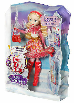 Mattel - Ever After High - Ewiger Winter Apple White, Puppe, Neu, DPG88