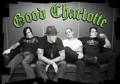 GOOD CHARLOTTE POSTER Amazing Sofa Group Shot RARE NEW - PRINT IMAGE PHOTO