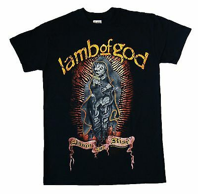 LAMB OF GOD - Again We Rise - T SHIRT Size - SMALL - Brand New Official T Shirt