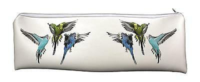 Budgies Large, Long PVC Pencil Case Back to School Gift, AB-94CA