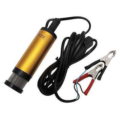 New DC12V Stainless Steel Submersible Diesel Fuel Water Oil Pump 12L/Min 38mm GD