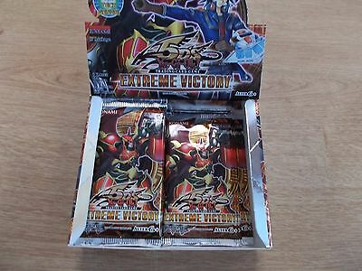 10x Booster EXTREME VICTORY 1.EDITION  deutsch YU GI OH