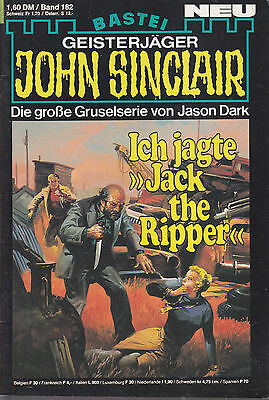 John Sinclair Nr. 182, Ich jage Jack the Ripper / Top Zustand