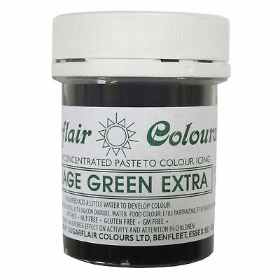Sugarflair Maximum Concentrated Paste Food Colouring 42g FOLIAGE GREEN ExTRA