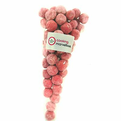 Chewy Strawberry Bon Bon Candy Sweets 200g