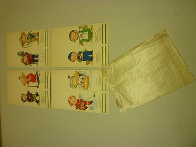 1930's Lot of 8 Original Campbell Soup Kids Talley Bridge Cards