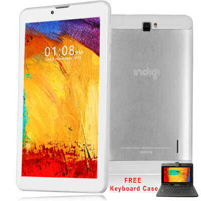 "UNLOCKED! 7.0"" Android 3G SmartPhone TabletPC 2sim SmartCover & Bundle Included"