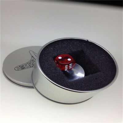 New INCEPTION Gyro Metal Gyroscope Accurate Spinning Top Alloy Silver&Dice&Box Z