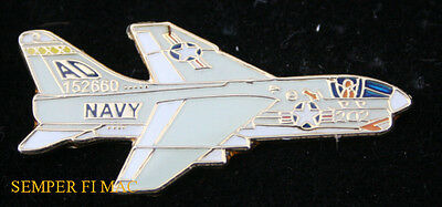 A-7 CORSAIR  VA-174 Hellrazors LAPEL HAT PIN UP US NAVY VETERAN USS PILOT CREW